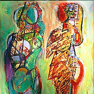 Abstract Figurative Art for Sale