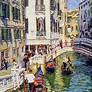 Venice Oil Paintings by Eugene Kaspin