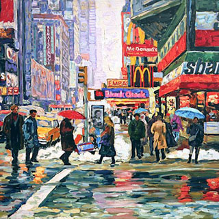 New York Original Oil Painting