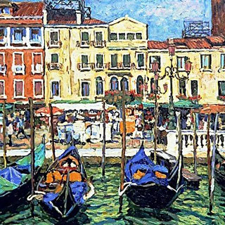 Venice Oil Paintings on Canvas